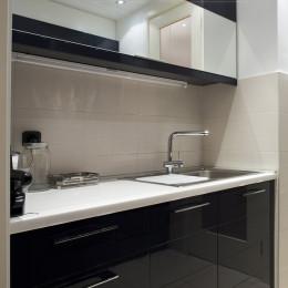 virtuves mēbeles no krāsota MDF