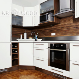 virtuves mēbeles no lamināta